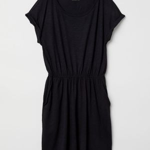 H&m Jersey black dress